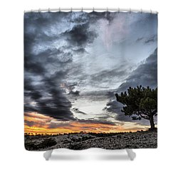 Shower Curtain featuring the photograph Lonely Tree by Okan YILMAZ