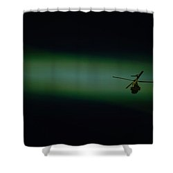 Loner Shower Curtain by Paul Job