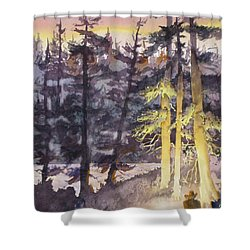 Lonesome Cowboy Shower Curtain by Mohamed Hirji