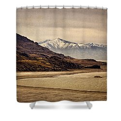 Lonesome Land Shower Curtain by Priscilla Burgers