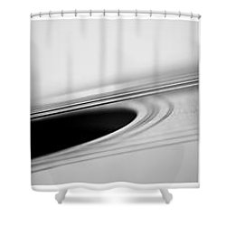 Long As The Guitar Shower Curtain by Priska Wettstein