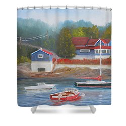 Long Cove Shower Curtain
