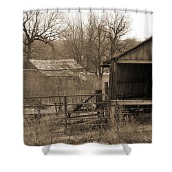 Long Forgotten Shower Curtain by Kirt Tisdale