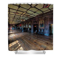 Long Gallery Shower Curtain by Adrian Evans