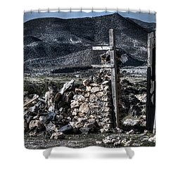 Long Gone Past Shower Curtain by Heiko Koehrer-Wagner