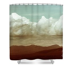 Shower Curtain featuring the photograph Long Horizon by Dana DiPasquale