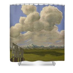 Long Intermission Shower Curtain