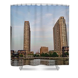 Long Island Shower Curtain by Ray Warren