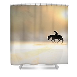 Long Ride Home Shower Curtain by Bob Orsillo
