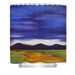 Long Road Home Shower Curtain by Dana Strotheide