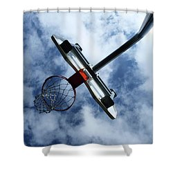 Long Shot Shower Curtain