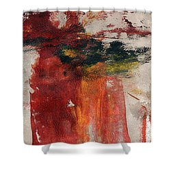 Long Time Coming Shower Curtain by Linda Woods
