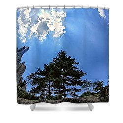 Long Way Up Shower Curtain