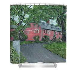 Longfellow's Wayside Inn Shower Curtain by Cliff Wilson