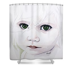 Longing Eyes Shower Curtain