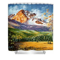 Longs Shadows Shower Curtain by Craig T Burgwardt