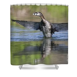 Look At My Wings Shower Curtain by Ruth Jolly