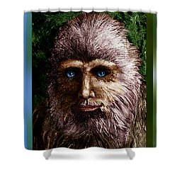 Look Into My Eyes... Shower Curtain