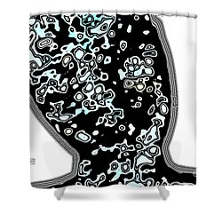 Look Line Shower Curtain