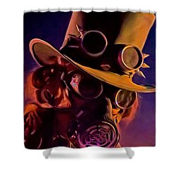 Looking At You Shower Curtain by Michael Pickett