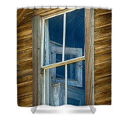 Looking Back In Time Shower Curtain by Sandra Bronstein