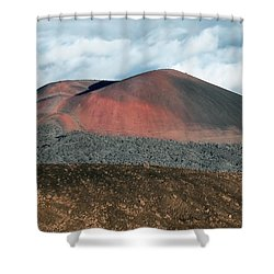 Shower Curtain featuring the photograph Looking Down by Jim Thompson