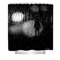 Looking For A Ride Shower Curtain by Bob Orsillo