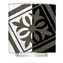 Looking For Balance Shower Curtain by Georgeta Blanaru