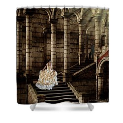 Looking For Love Shower Curtain by Davandra Cribbie