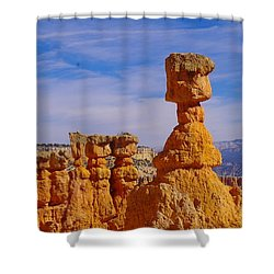 Looking Over Sunset Point  Shower Curtain by Jeff Swan