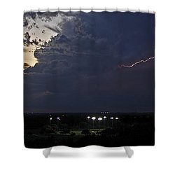 Looks Like Time To Call This Off Shower Curtain by Gary Holmes