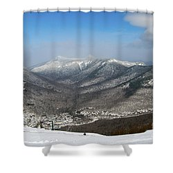 Loon Mountain Ski Resort White Mountains Lincoln Nh Shower Curtain