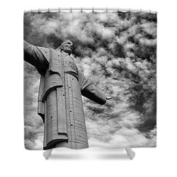Lord Of The Skies 3 Shower Curtain by James Brunker