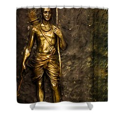 Lord Sri Ram Shower Curtain