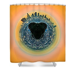 Love La Shower Curtain by Az Jackson