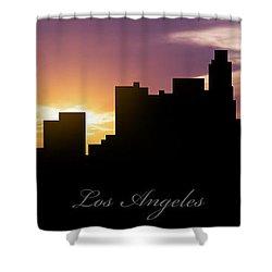Los Angeles Sunset Shower Curtain