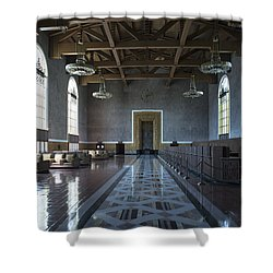 Los Angeles Union Station - Custom Shower Curtain