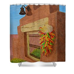 Los Chiles Shower Curtain