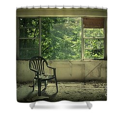 Lose Your Delusions Shower Curtain by Evelina Kremsdorf