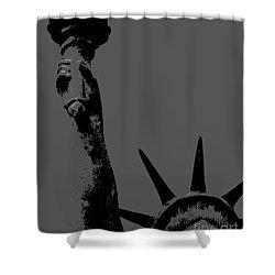 Losing Liberty Shower Curtain by Joe Jake Pratt