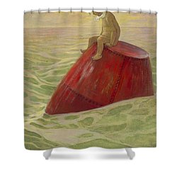 Lost Cira 1916 Shower Curtain by Aged Pixel