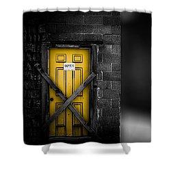 Lost Control Shower Curtain by Bob Orsillo