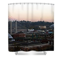 Lost In A Memory Shower Curtain