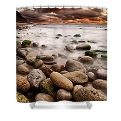 Lost In A Moment Shower Curtain by Jorge Maia
