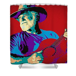 Jack Pop Art Shower Curtain