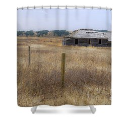 Lost In The Past Shower Curtain by Dee Cresswell