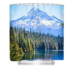 Lost Lake Morning Shower Curtain