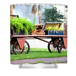 Shower Curtain featuring the photograph Lost Luggage by Gordon Elwell
