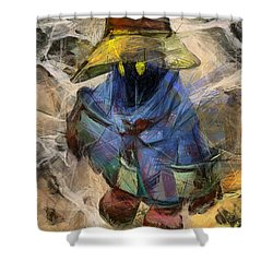 Lost Mage Shower Curtain