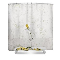 Lost Petals Shower Curtain